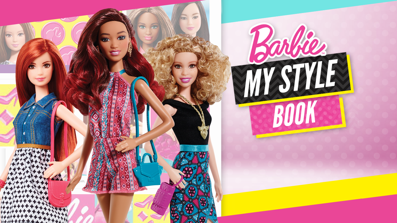 Mattel Barbie Fashion Games All New Barbie Fashion Game