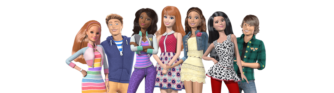 Barbie and friends names friends