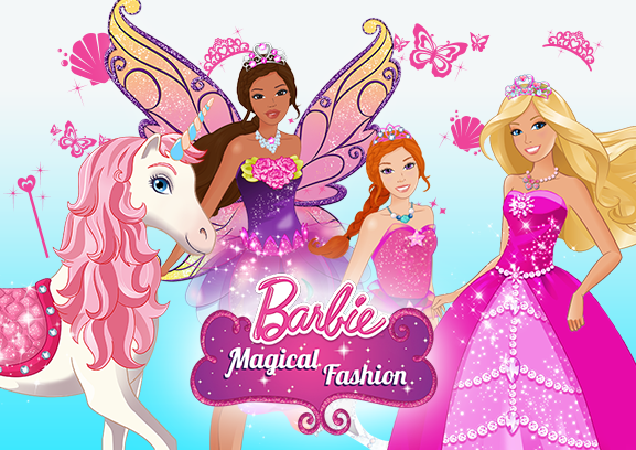 Barbie Fashion Games For Kids Barbie Magical Fashion allows