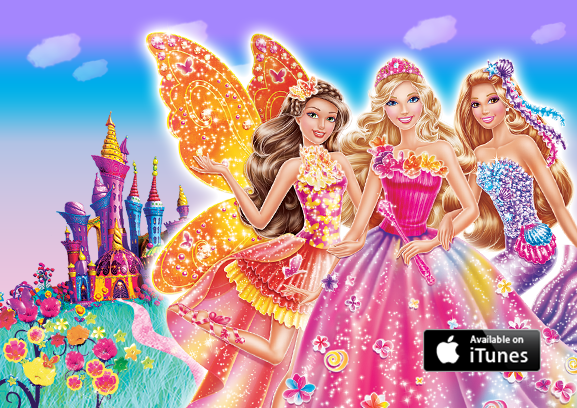 The ultimate fairytale musical barbie and the secret door is now on