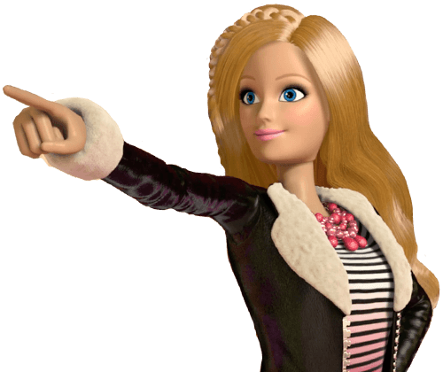 Barbie nin sihirli dünyasından içeri gir