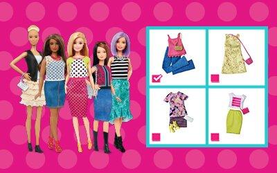 Spiel : Stell dir dein persönliches Modeteam zusammen!
