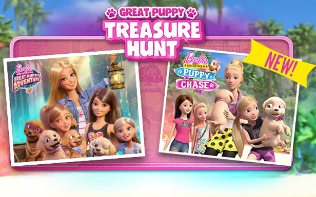 Great Puppy Treasure Hunt