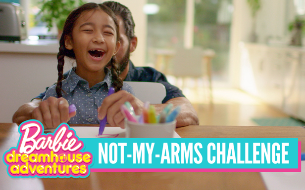 A Not-My Arms Challenge Inspired by Barbie™ Dreamhouse Adventures