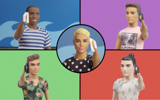 Barbie® Saturdays Are for The Boys with Ken™ Fashionistas® Dolls