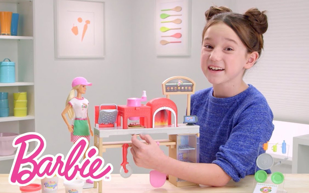 Barbie Pizza Chef Playset Demo