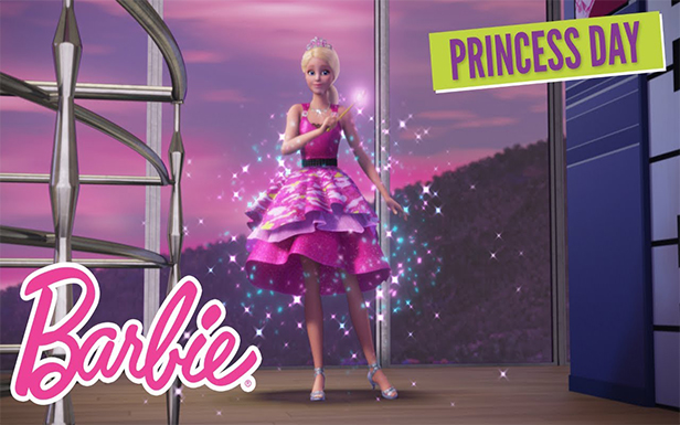Celebrate National Princess Day with Barbie®