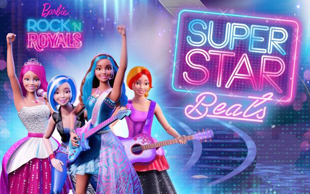 Barbie hair salon games.
