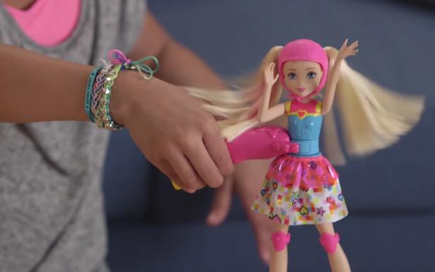 Unbox Barbie Video Game Hero Light-up Skates Barbie® Doll