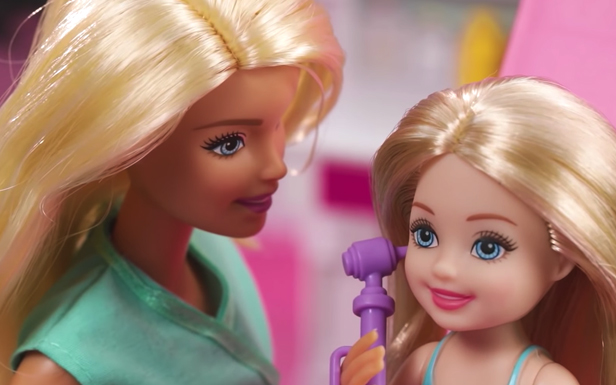 Barbie® and Chelsea™ Make Check-ups Fun with the Barbie® Care Clinic Playset