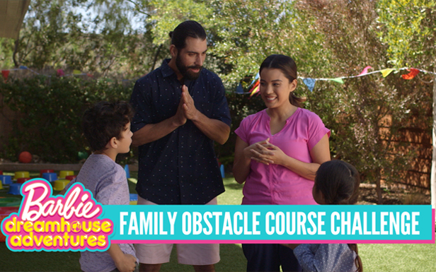 Barbie™ Dreamhouse Adventures Inspires Family Obstacle Course Challenge