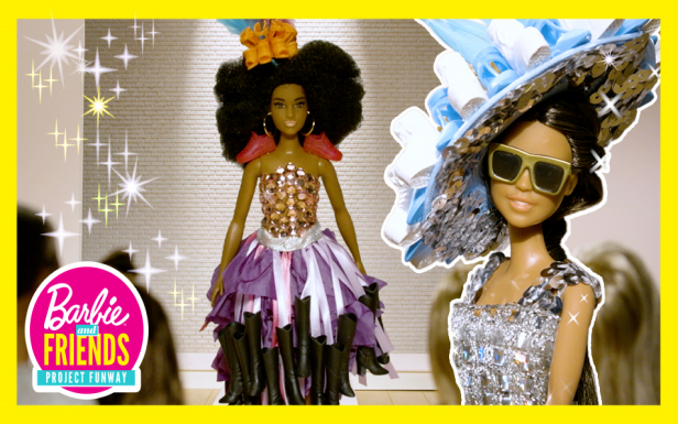 Barbie® Dolls Compete in a Runway Challenge