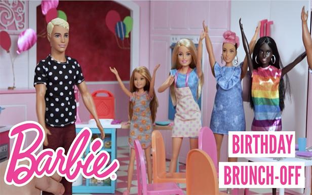Ken™ Doll's Birthday Brunch-Off