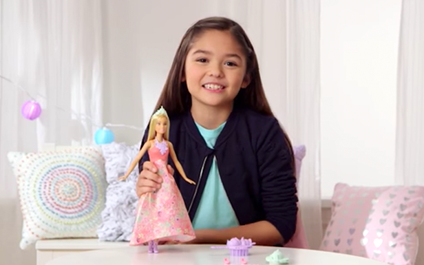 Demo the Magic of Barbie Color Stylin' Princess Doll