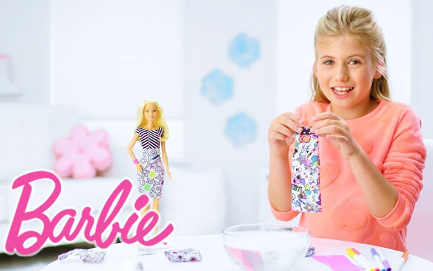 Barbie® Crayola® Color-In Fashion Doll