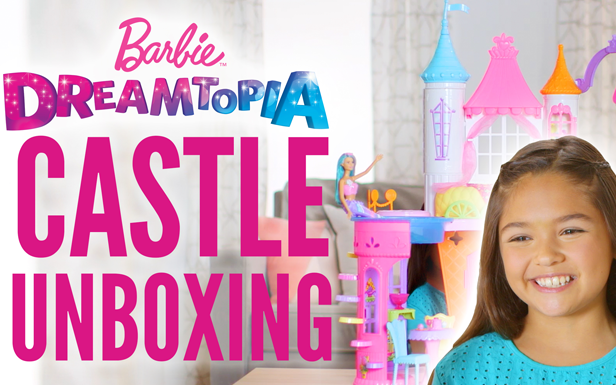 A Sweet Unboxing for Barbie Dreamtopia Sweetville Castle