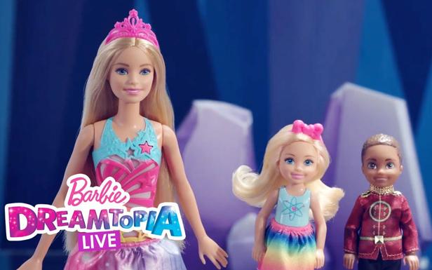 Barbie Doll and Chelsea Doll Make Dreamtopia Sparkle | Dreamtopia LIVE