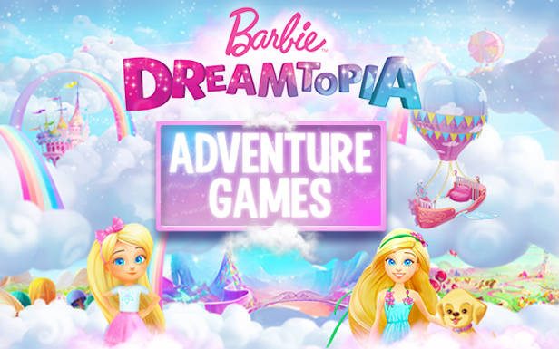 Game : Barbie Dreamtopia Adventure Games