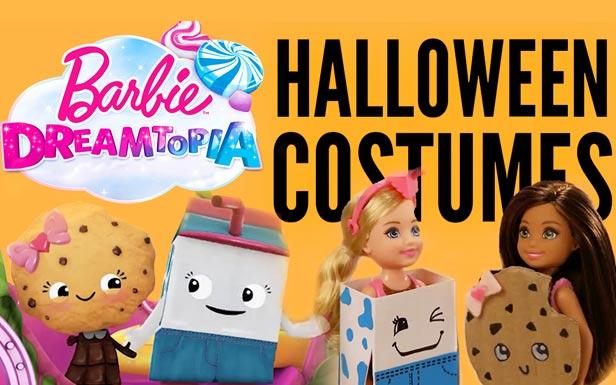 DIY Costumes – Milk and Ms. Chips | Barbie Dreamtopia