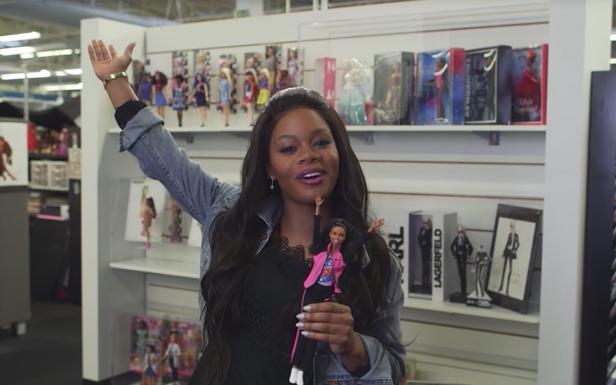 Gabby Douglas Introduces the Collector Gabby Douglas Barbie® Doll