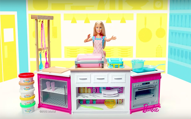 On Set with Barbie®: Behind the Scenes at a Barbie® Ultimate Kitchen TV Commercial Shoot
