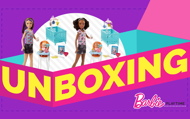 Unboxing Barbie® Skipper™ Babysitters Inc.™ Dolls and Playsets to Reveal Babysitting Adventures