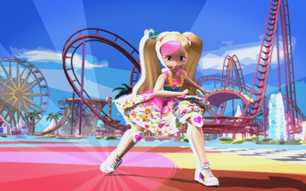 Barbie Enters the Game