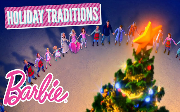 Barbie® Shares her Favorite Holiday Traditions