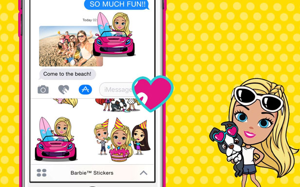 Barbie™ Stickers