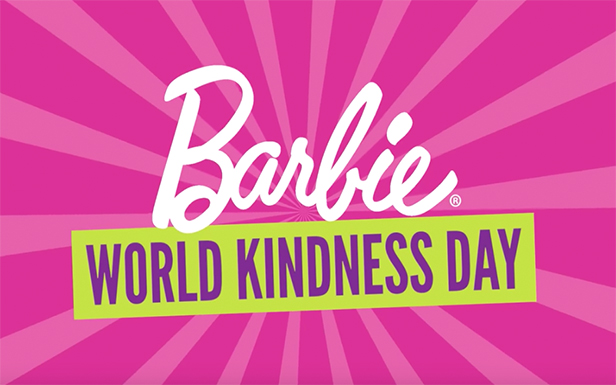 Barbie® Celebrates World Kindness Day
