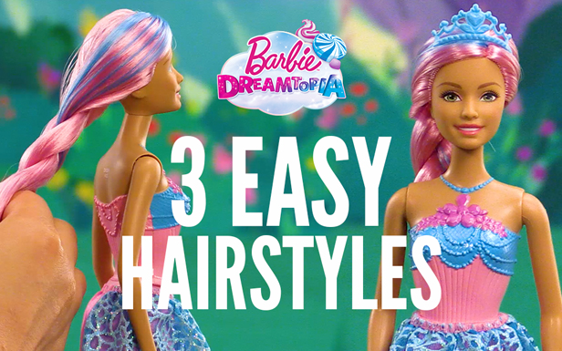 Easy Hairstyles with the Endless Hair Princess Dolls