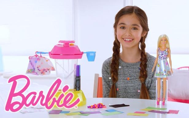 BARBIE® CRAYOLA® Confetti Skirt Studio