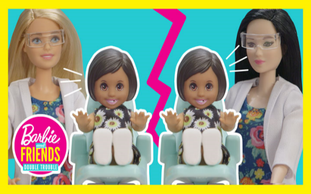 Barbie® Dentist Dolls Find Themselves in Double Trouble