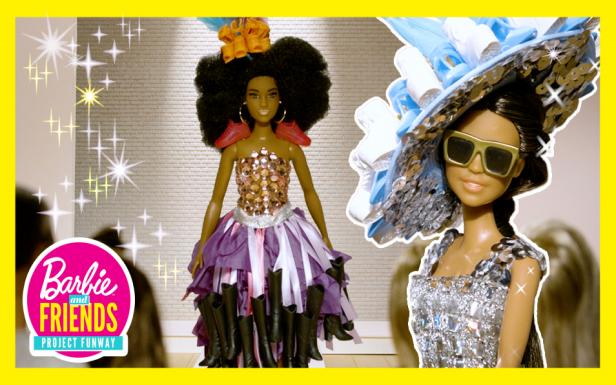 Barbie® Dolls Compete in a Runway Challenge