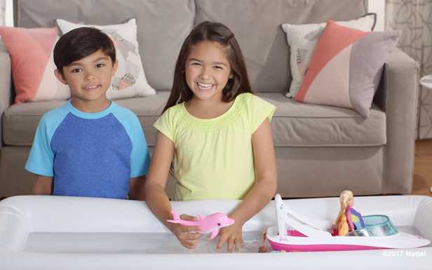 Dive into Fun When You Unbox the Barbie Dolphin Magic Ocean View Boat