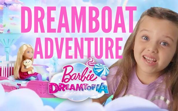 Adventure in the Dreamtopia Dreamboat
