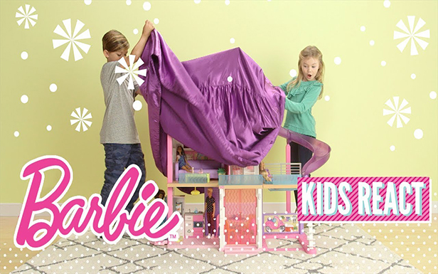Kids React to the Barbie® Dreamhouse®