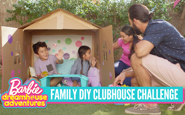 Make a Playhouse Inspired by Barbie™ Dreamhouse Adventures