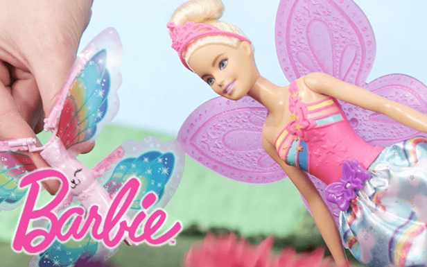 Springtime Blossoms in Barbie™ Dreamtopia with Help from Barbie® Flying Wings Fairy