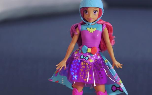 Unbox Barbie Video Game Hero Match Game Princess Doll