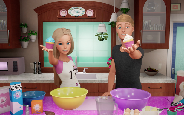 Barbie and Ken's Cupcake Baking Experiment
