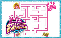 Printable : Great Puppy Adventure Activity Book