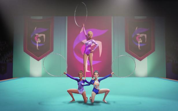 Barbie Celebrates National Gymnastics Day