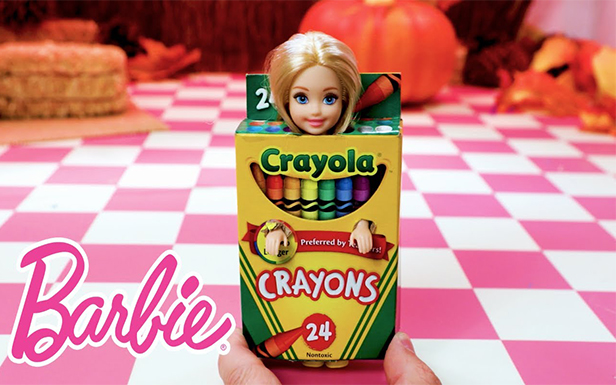 Barbie® and Friends Make DIY Halloween Costumes with Help from Crayola®