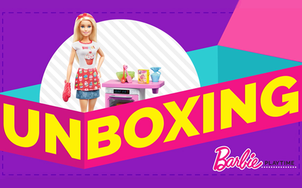 A Sweet Unboxing of Barbie® Bakery Chef Dolls