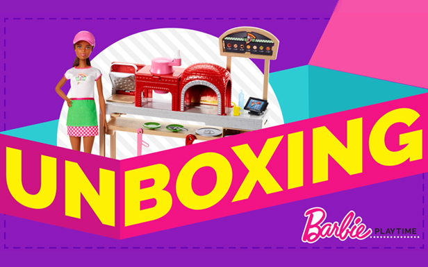 Unboxing Barbie® Pizza Chef Dolls and Playsets Cooks Up Fun