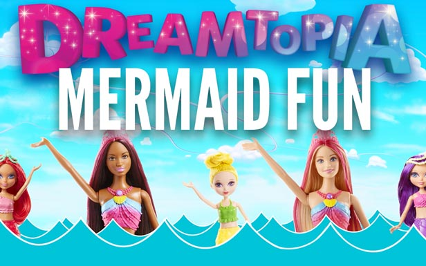 Music Video with Barbie Dreamtopia Mermaids