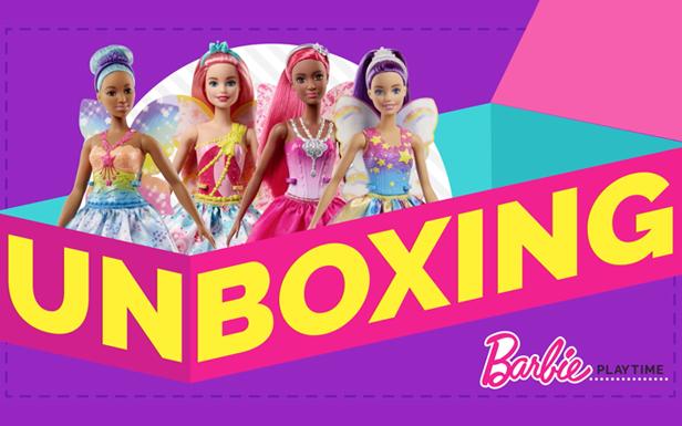 Unboxing Barbie™ Dreamtopia Fairy Dolls and Unleashing Imagination