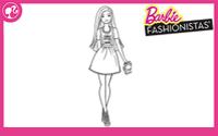 Printable : Fashionistas Coloring Page 2
