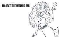 Printable : Mermaid